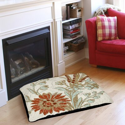 Garden Tile 2 Pet Bed Size: 40 L x 30 W