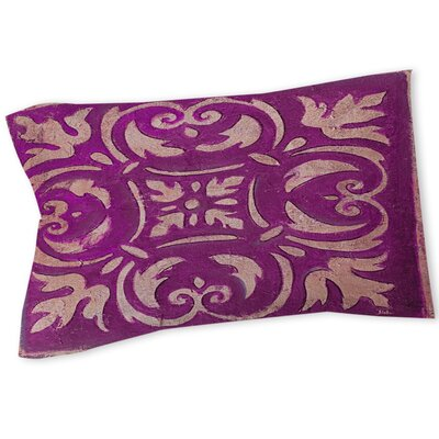 Mosaic Sham Size: Twin, Color: Purple
