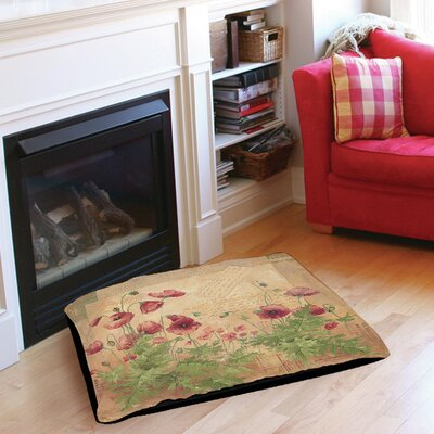 Floral 1 Pet Bed Size: 40 L x 30 W