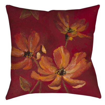 Alok Printed Throw Pillow Size: 14 H x 14 W x 3 D