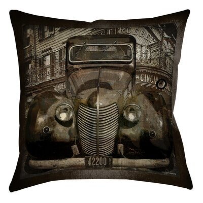 Old New York Indoor/Outdoor Throw Pillow Size: 18 H x 18 W x 5 D
