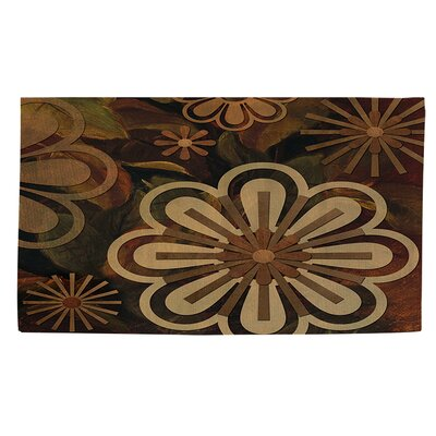 Floral Abstract 2 Area Rug Rug Size: 4 x 6