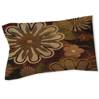 Floral Abstract I Sham Size: Twin