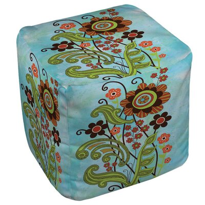 Flower Power Stems Ottoman
