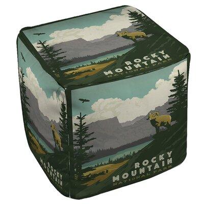 Rocky Mountain National Park Pouf