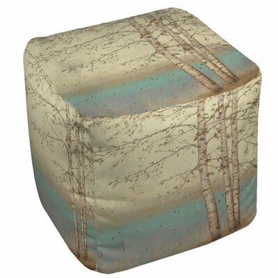 Golden Birch 1 Ottoman