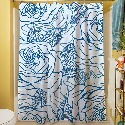 Rose Tonic Shower Curtain