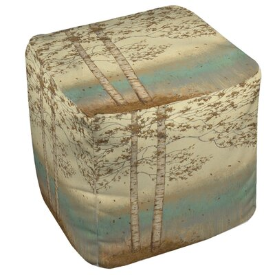 Golden Birch 2 Ottoman
