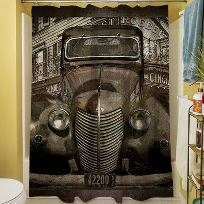 Old New York Shower Curtain