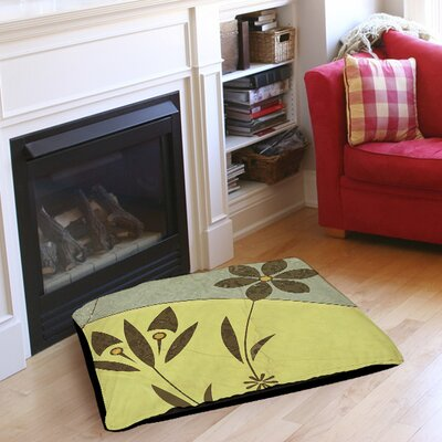 Graphic Garden Selene Pet Bed Size: 28 L x 18 W