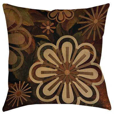 Floral Abstract II Printed Throw Pillow Size: 14 H x 14 W x 3 D