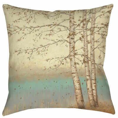 Golden Birch 1 Indoor/Outdoor Throw Pillow Size: 16