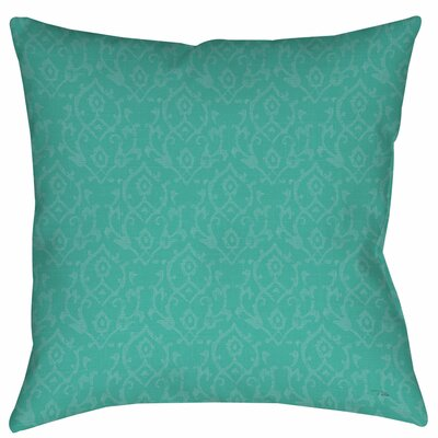 Flowing Damask Indoor/Outdoor Throw Pillow Size: 20 H x 20 W x 5 D