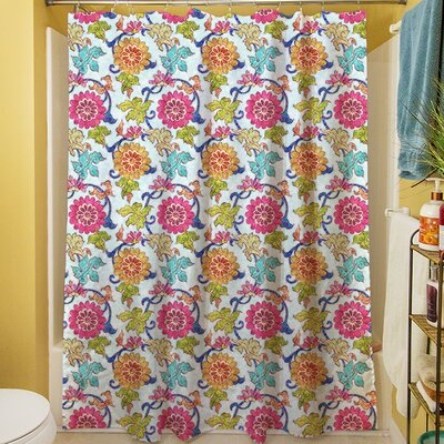 Shangri La Leaves Shower Curtain