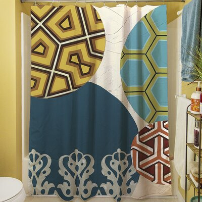 Paper Lanterns II Shower Curtain