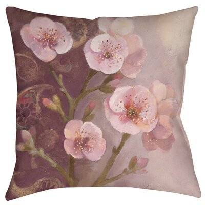 Gypsy Blossom I Printed Throw Pillow Size: 18 H x 18 W x 5 D