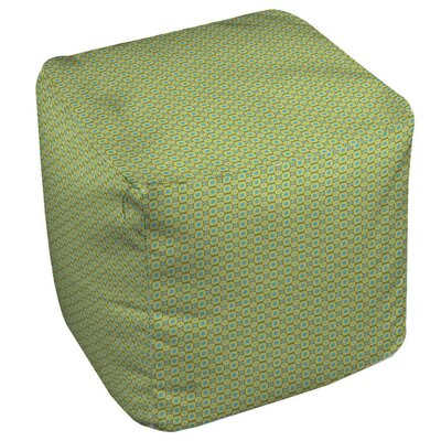 Funhouse Pouf Upholstery: Green