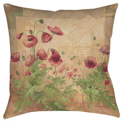 Sinha 1 Indoor/Outdoor Throw Pillow Size: 20 H x 20 W x 5 D
