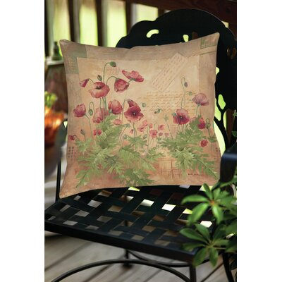 Sinha 1 Indoor/Outdoor Throw Pillow Size: 16 H x 16 W x 4 D