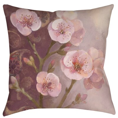 Gypsy Blossom 1 Indoor/Outdoor Throw Pillow Size: 18 H x 18 W x 5 D
