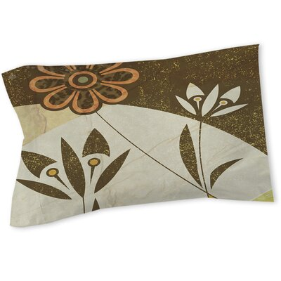 Graphic Garden Savannah Sham Size: Queen/King