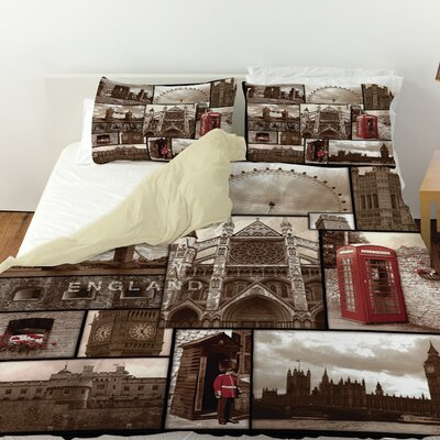 England Duvet Cover Size: Queen