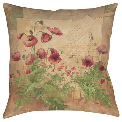 Sinha 1 Printed Throw Pillow Size: 14 H x 14 W x 3 D