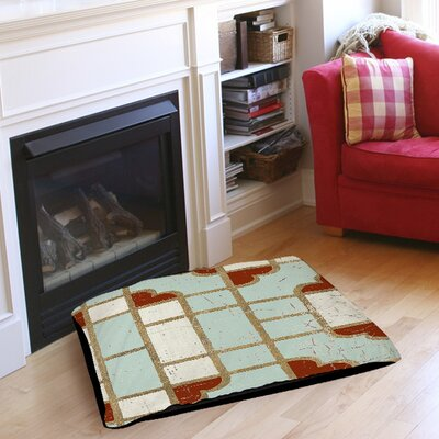 Garden Tile 4 Pet Bed Size: 28 L x 18 W