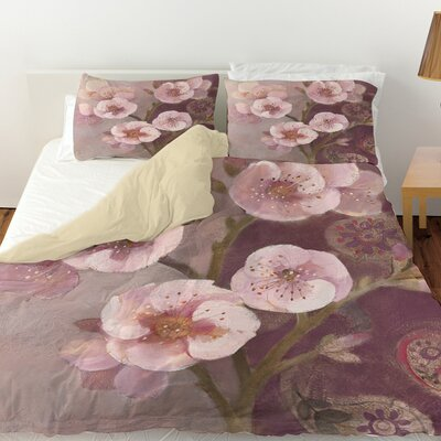 Gypsy Blossom 2 Duvet Cover Size: Queen