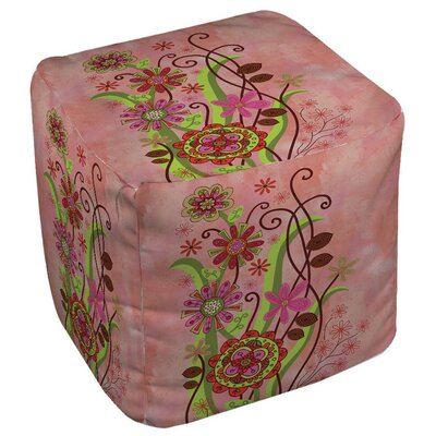Flower Power Stems Pouf