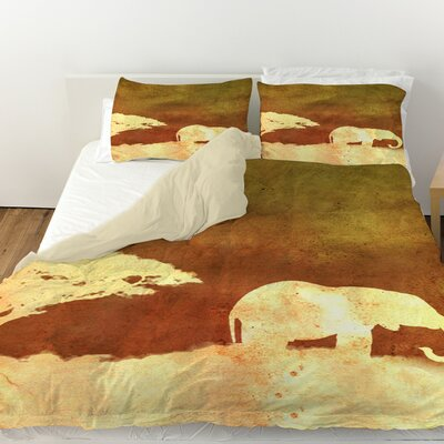 Safari Sunrise 1 Duvet Cover Size: Queen