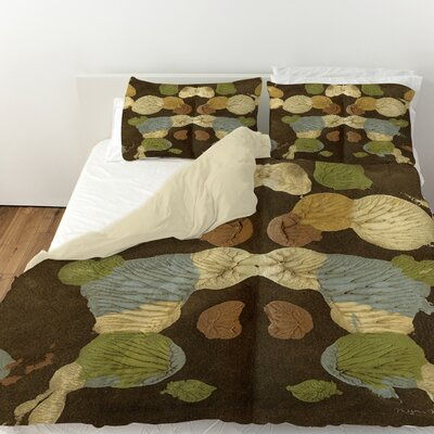 Rorschach Abstract Duvet Cover Size: King