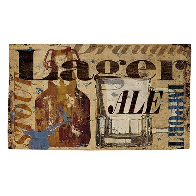 Old Lager Area Rug Rug Size: 2 x 3