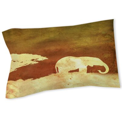 Safari Sunrise 1 Sham Size: Queen/King