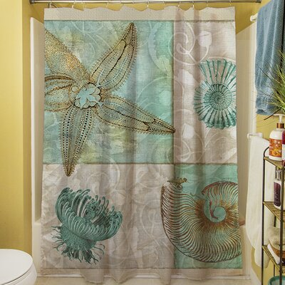 manual woodworkers weavers sea life i shower curtain