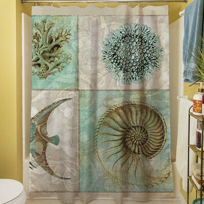 Amherst Printed Shower Curtain