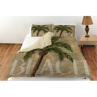 Beach Palm Duvet Cover Collection