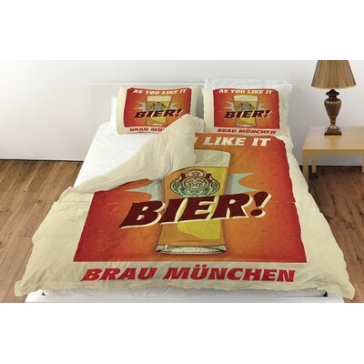 Bier Brau Munchen Duvet Cover Collection