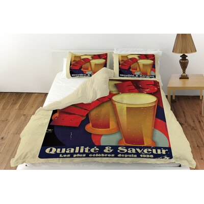 Bieres Qualite and Saveur Duvet Cover Collection