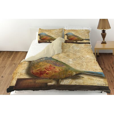 Bird of Collage 1 Duvet Cover Collection