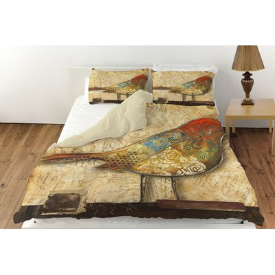 Bird of Collage 2 Duvet Cover Collection