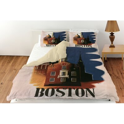 Boston Architecture Duvet Cover Collection