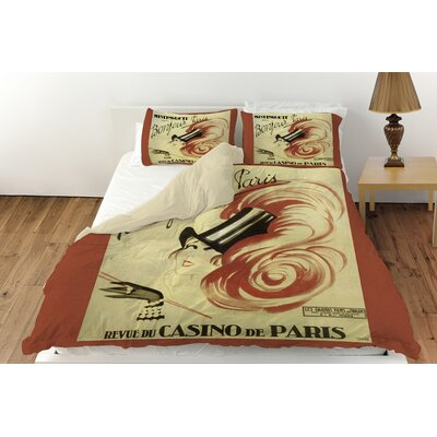 Bonjour Paris Duvet Cover Collection