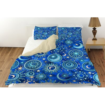 Celestial Medallions Duvet Cover Collection