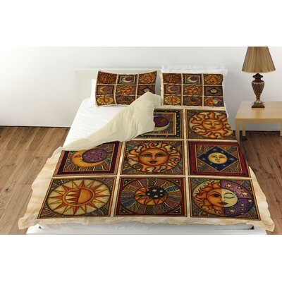 Celestial Squares Duvet Cover Collection