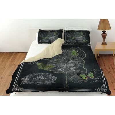 Chalkboard Botanical 2 Duvet Cover Collection