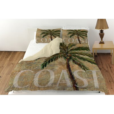 Coastal Palm Postcard Duvet Cover Collection