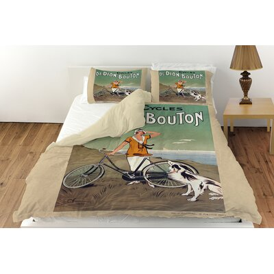 Cycles De Doin Bouton Duvet Cover Collection