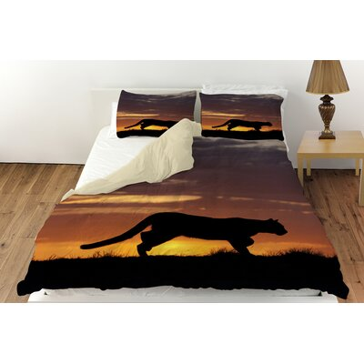 Cougar Silhouette Duvet Cover Collection