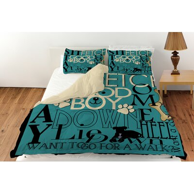Dog Commands Duvet Cover Collection